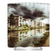 Sale Canal Shower Curtain