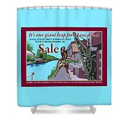Sale Poster By Eric Jackson, Statement Artwork Shower Curtain