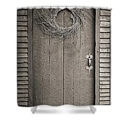 Salem Door Shower Curtain