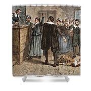 Salem Witch Trials, 1692 Shower Curtain by Granger
