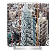 Salesforce Tower In San Francisco Shower Curtain