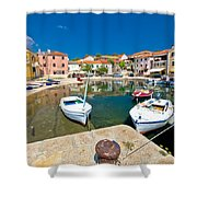 Sali Village On Dugi Otok Island Shower Curtain