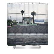 Salinas Valley Victorian Mansion Shower Curtain