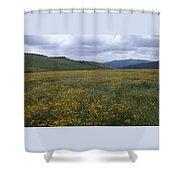 Salisbury Potrero - Sierra Madre Mountains Shower Curtain