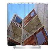 Salk Architecture Shower Curtain