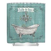 Salle De Bain Shower Curtain