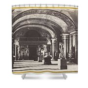 Salle Des Cariatides, Au Mus?e Du Louvre Shower Curtain