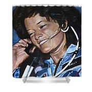 Sally Ride Shower Curtain