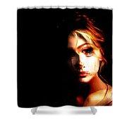 Sally White. Always First, Always Best Shower Curtain
