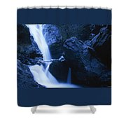 Salmon Creek Falls Shower Curtain