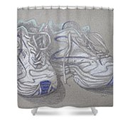 Sal's Sneakers Shower Curtain