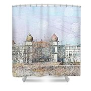 Salt Air Shower Curtain