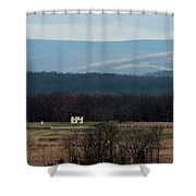 Salt Box House Shower Curtain