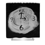 Salt Clock Shower Curtain