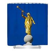 Salt Lake City Angel Moroni 2015 Shower Curtain