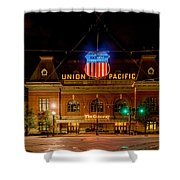 Salt Lake City Union Pacific Depot Shower Curtain