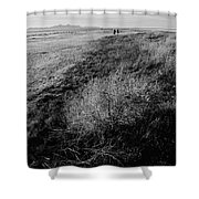 Salt Lake Walk  Shower Curtain
