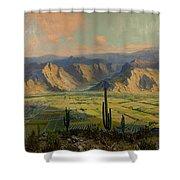 Salt River Irrigation Project - Arizona Shower Curtain