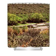 Salt River Serenity Shower Curtain
