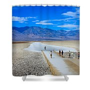 Salt Stretch Shower Curtain