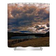 Saltmarsh Pond Gilford Nh Shower Curtain