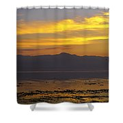 Salton Sea Shower Curtain