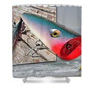 Saltwater Fishing Shower Curtain