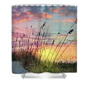 Salty Breeze On The Dunes Shower Curtain
