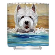 Salty Dawg Shower Curtain