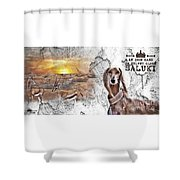 Saluki - The One And Only Shower Curtain