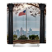 Salute To Cincinnati Shower Curtain