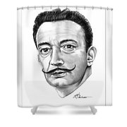 Salvador Dali Shower Curtain
