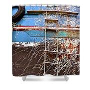Salvage  Shower Curtain