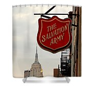 Salvation Army New York Shower Curtain