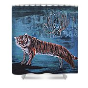 Salvato Dalle Acque Shower Curtain
