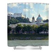 Salzburg City View Five Shower Curtain