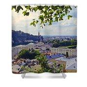 Salzburg City View Four Shower Curtain