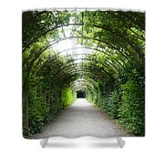 Salzburg Garden Arbor Shower Curtain