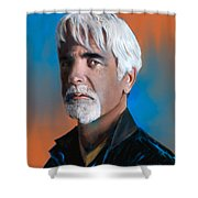 Sam Elliott Shower Curtain