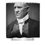 Sam Houston  1849 Shower Curtain