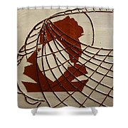 Samantha - Tile Shower Curtain