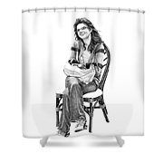 Samantha Jonice Elliott Shower Curtain
