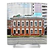 Samara Houses Shower Curtain