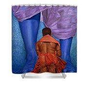 Samarpan 1 Shower Curtain