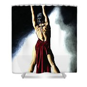 Samba Celebration Shower Curtain