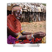 Samburu Beauty Shower Curtain