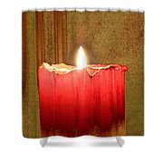 Same Candle New Color Shower Curtain