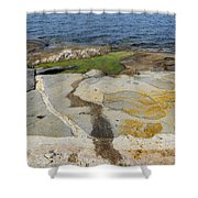Sammo Island Shower Curtain