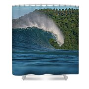 Samoa Power Shower Curtain