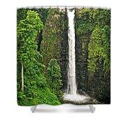 Samoan Falls 2 Shower Curtain